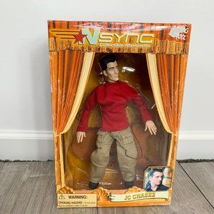 """2000 NSYNC JC Chasez 10"""" Collectible Marionette"""
